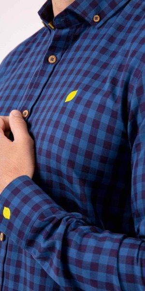 camisa-hombre-cuadros-azules