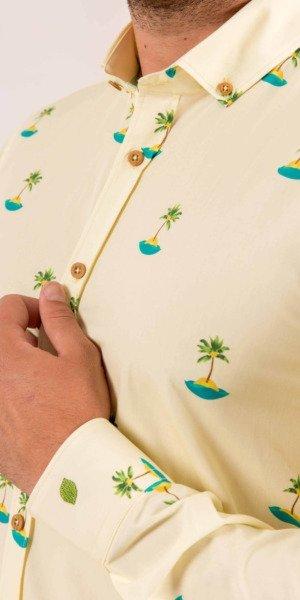 camisa-lemon-estampada-palmeras-limon-sirlemon