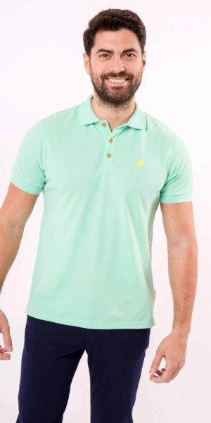 polo-sir-lemon-verde-algodón