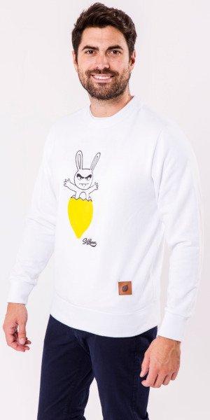 sudadera-unisex-sirlemon-conejo-limon-blanco