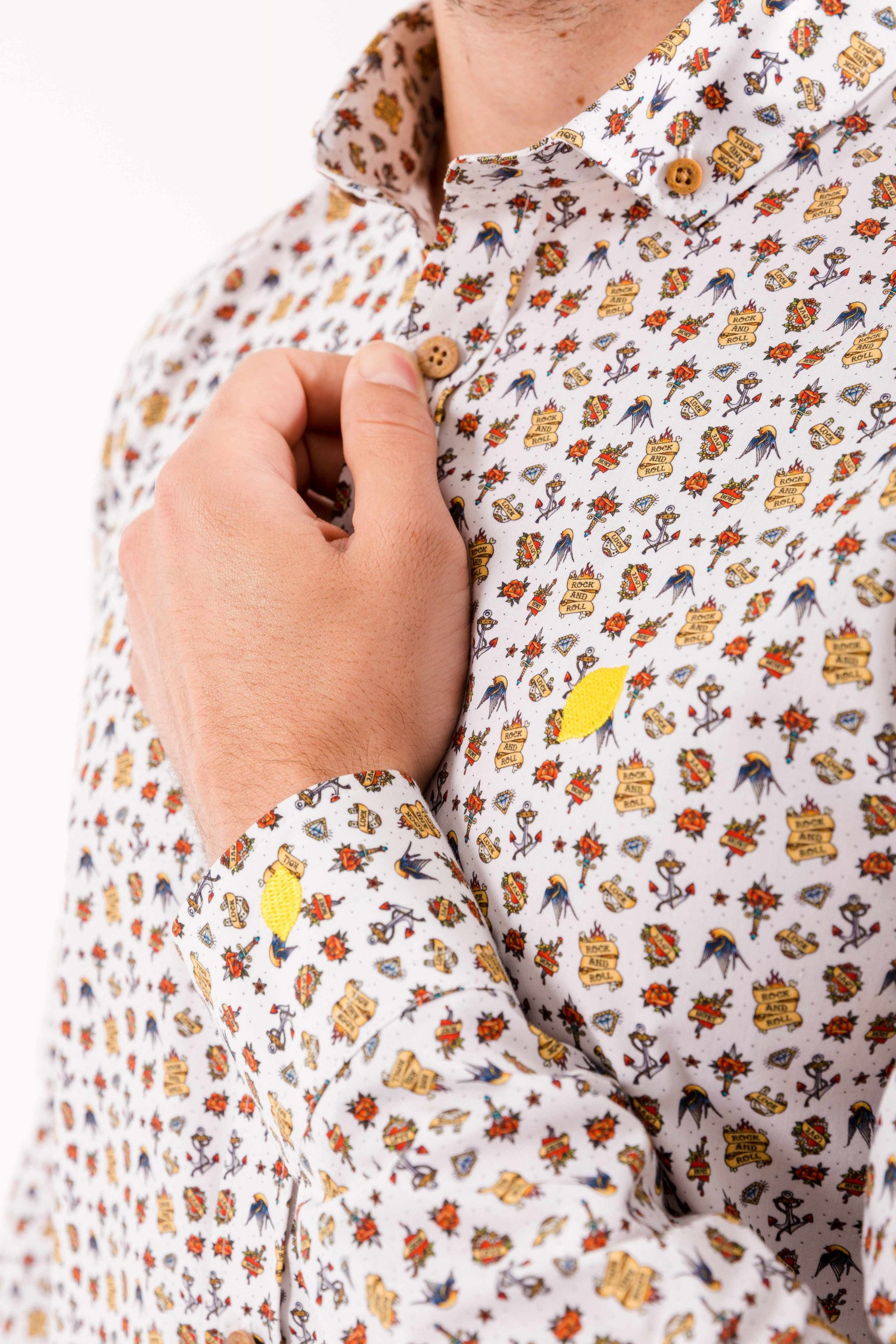 camisa-de-hombre-sir-lemon-tatuajes
