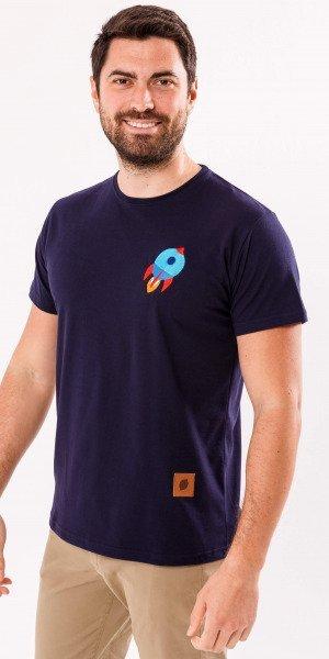 camiseta-sir-lemon-unisex-marino-cohete