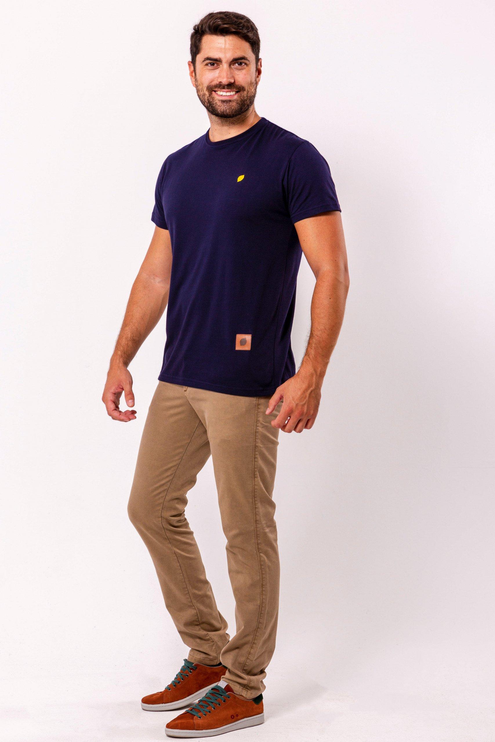 camiseta-sirlemon-basica-marino-bordado-fabricada-en-españa